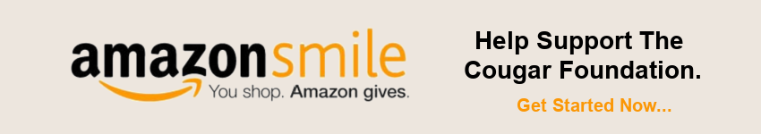Amazon Smile - Help Support The Cougar Foundation